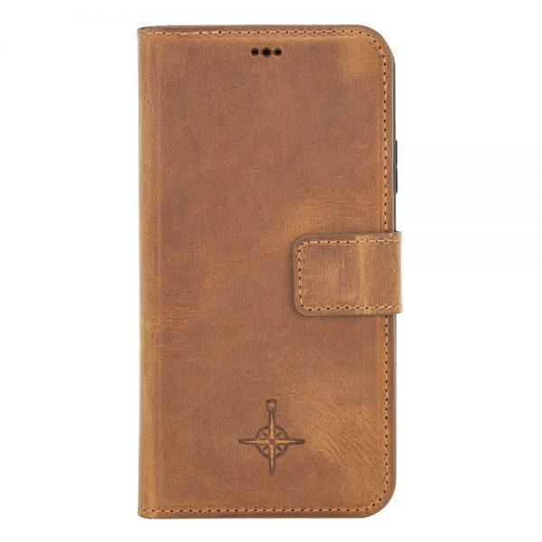 iPhone 11 – Detachable wallet case – Villa Cruoninga Cognac