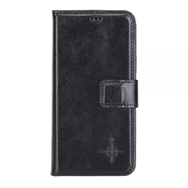 iPhone 12 / 12 Pro – Detachable wallet case – Burcht Trecht Black