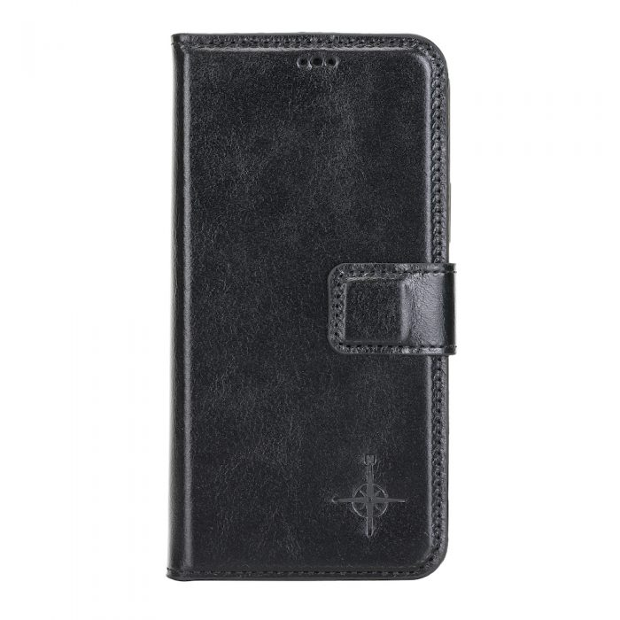 iPhone 12 / 12 Pro – Detachable wallet case – Burcht Trecht Black