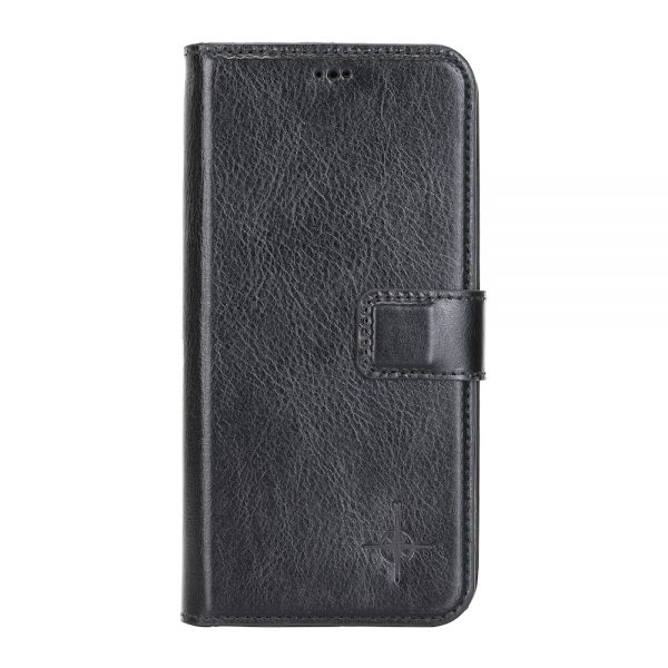 iPhone 12 Pro Max – Detachable wallet case – Burcht Trecht Black