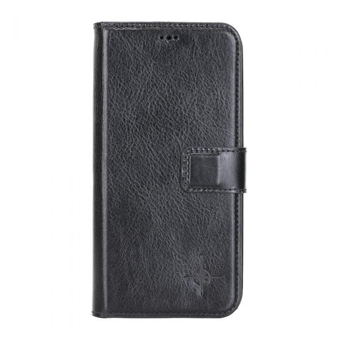iPhone 12 Pro Max – Detachable wallet case – Burcht Trecht Black
